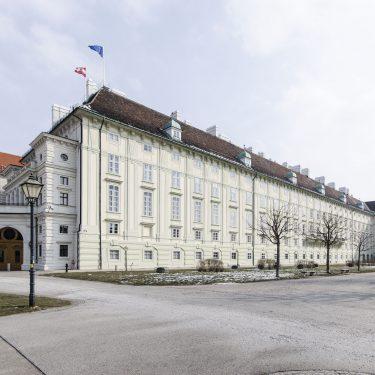 Hofburg Wien Leopoldinischer Trakt