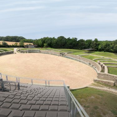 Carnuntum | Militärisches Amphitheater